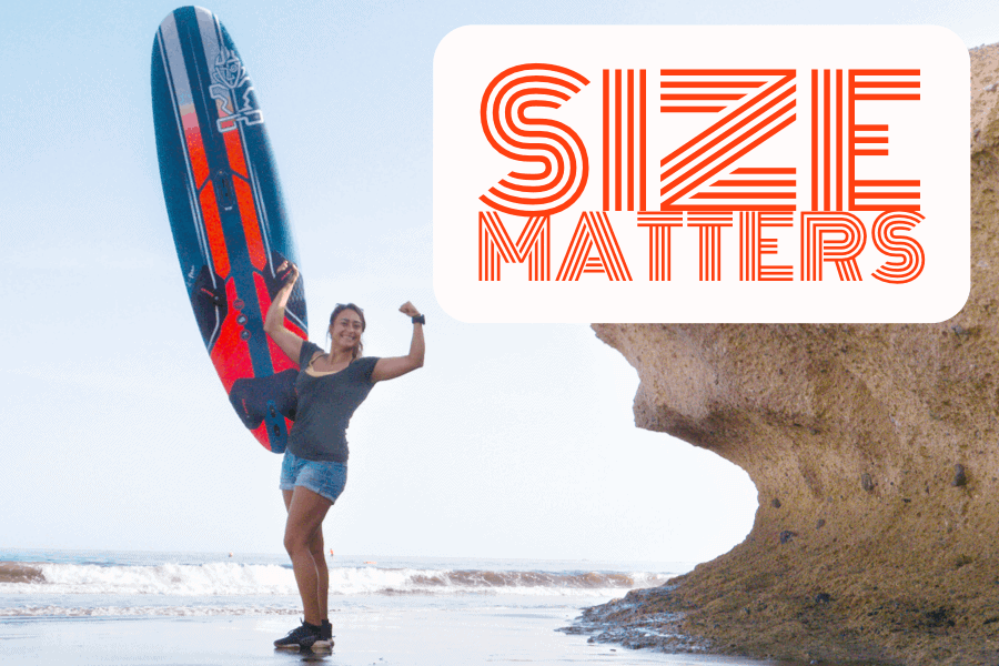 Size Matters: Ignite - Find The Right Size Board For You - 3 - Windsurf