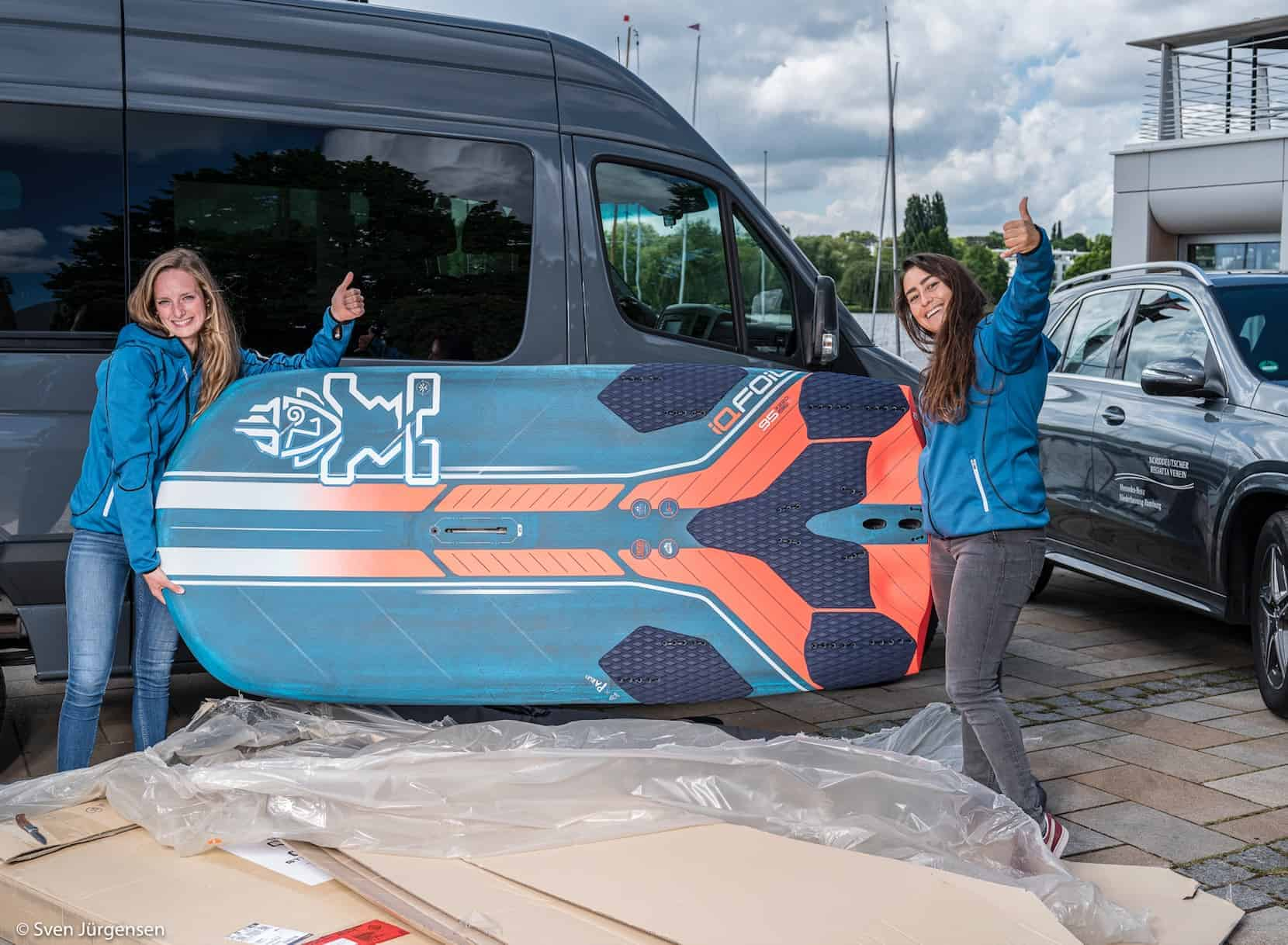 First IQFoil Boards Are Delivered - 3 - Windsurf