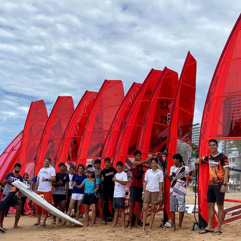 First Thai IQFoil Junior Event - 2 - Windsurf