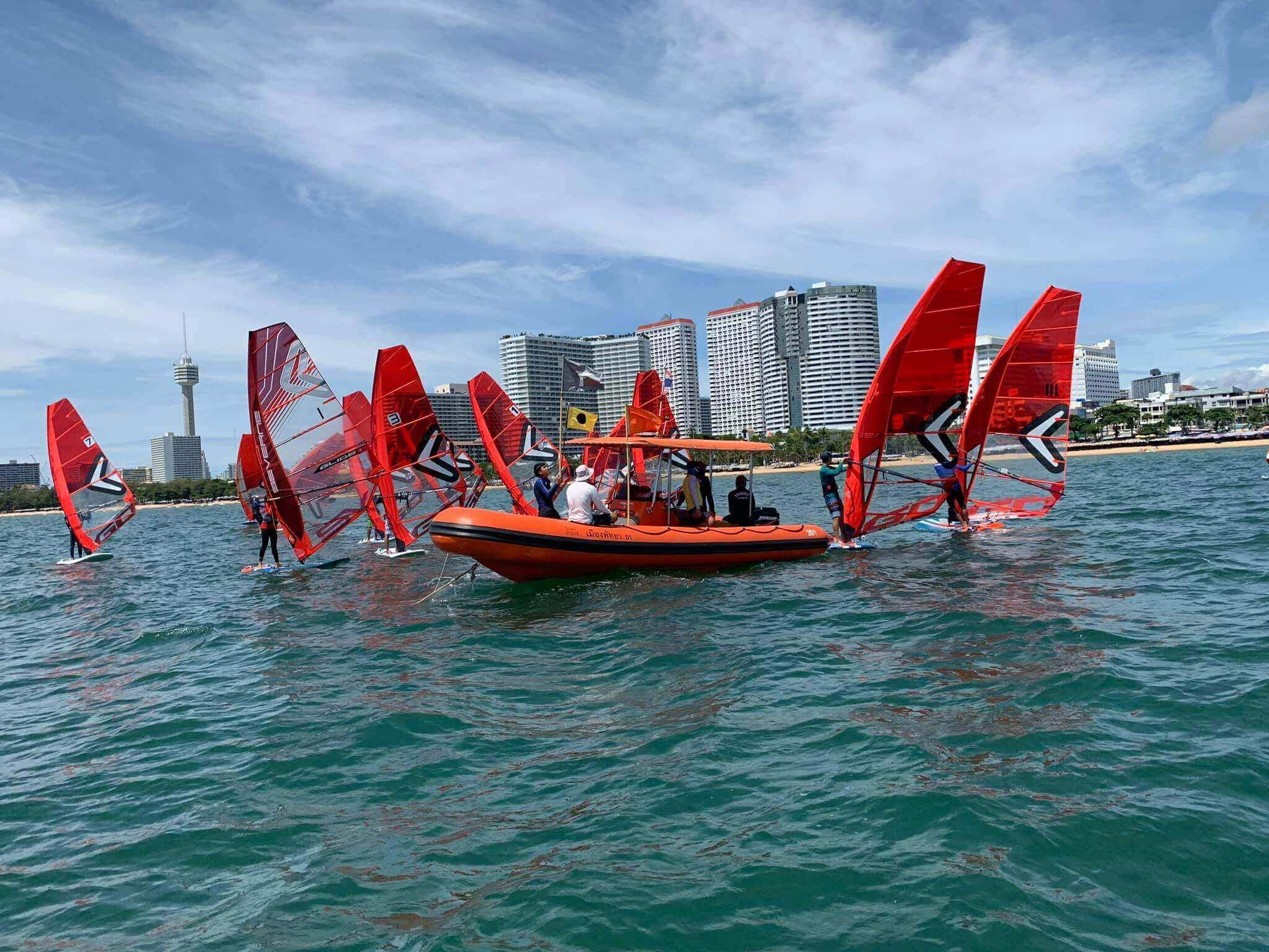 First Thai IQFoil Junior Event - 3 - Windsurf