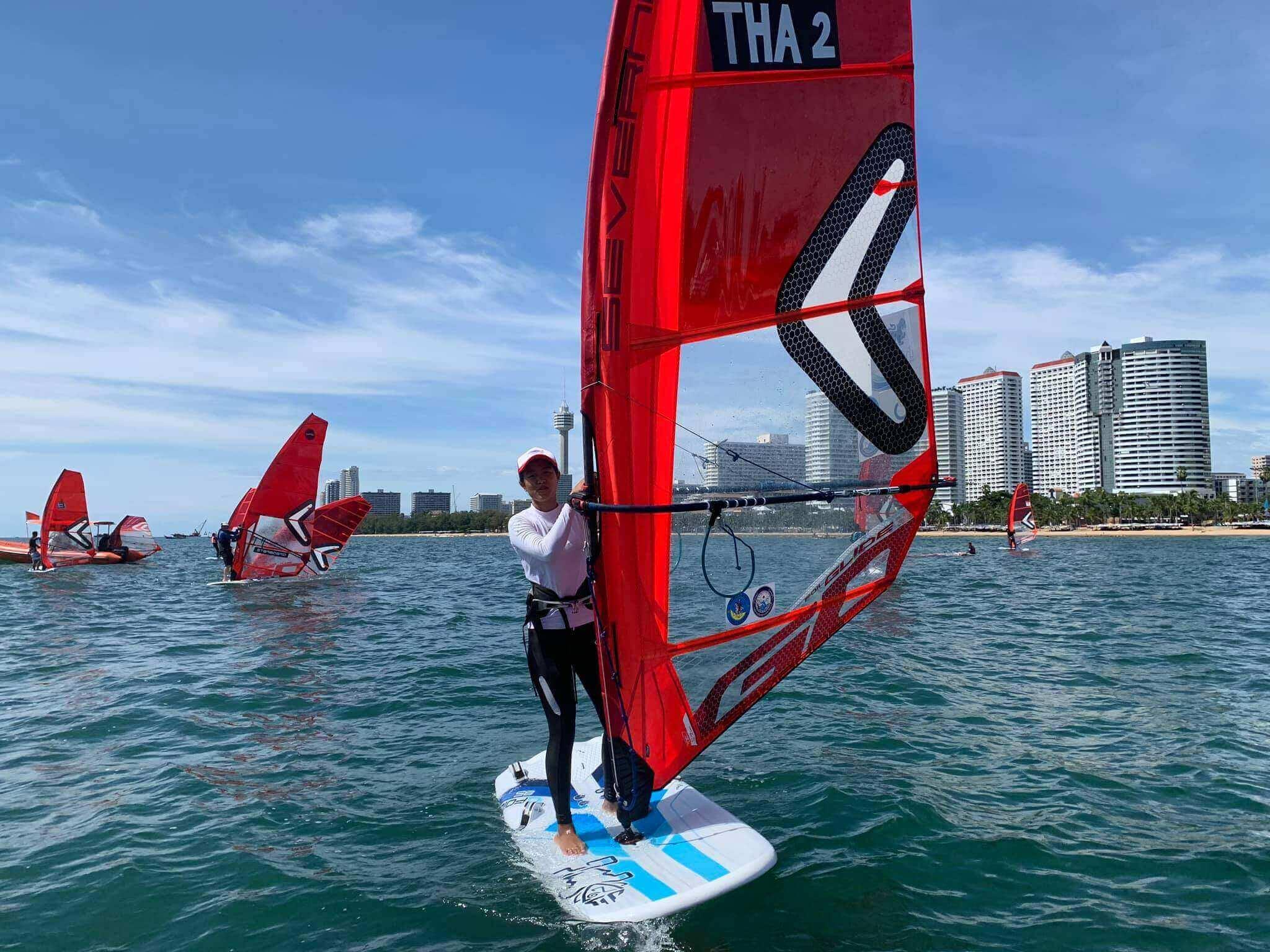 First Thai IQFoil Junior Event - 4 - Windsurf