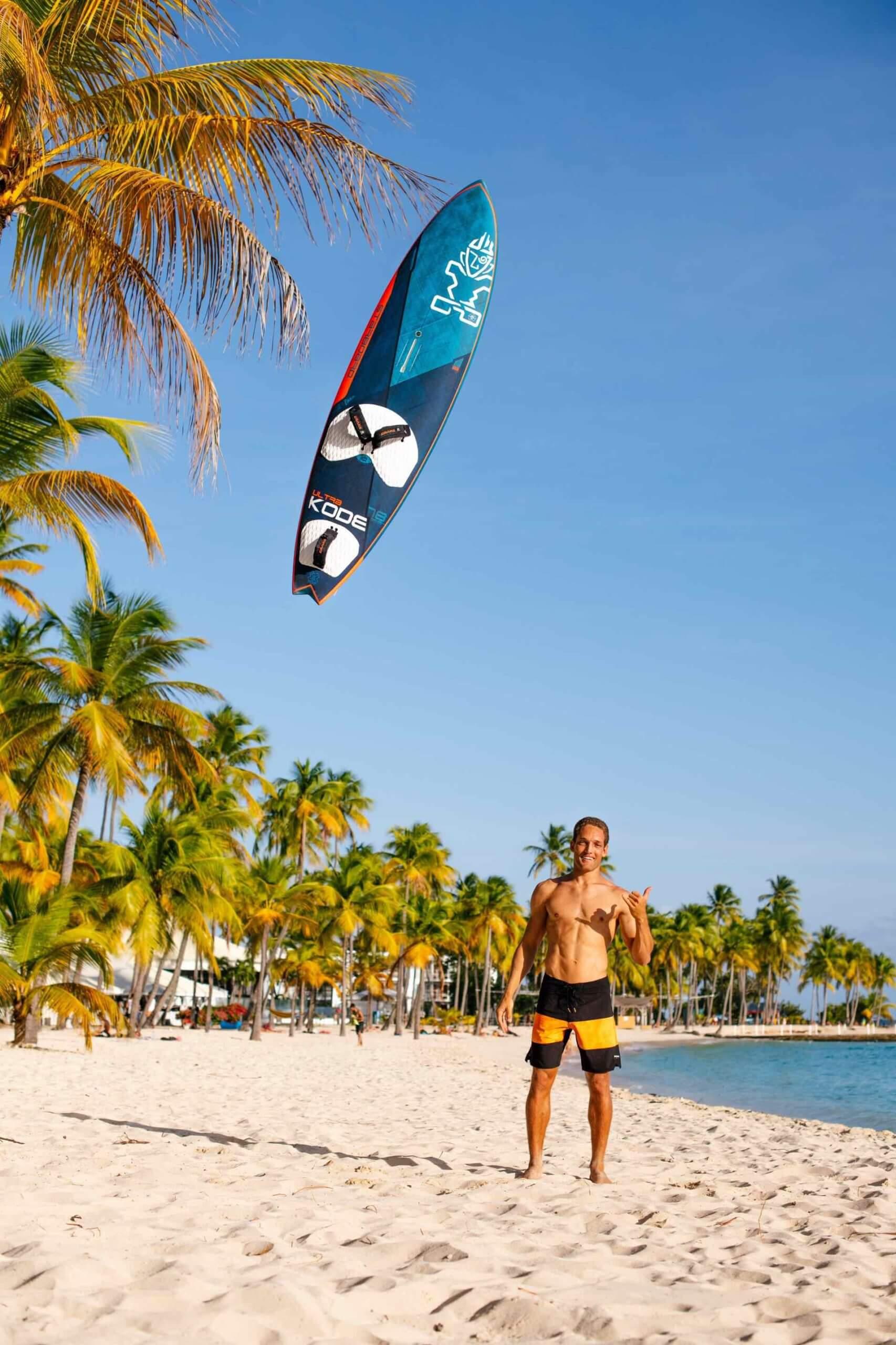 Antoine Martin Joins Starboard´s Dream Team - 3 - Windsurf