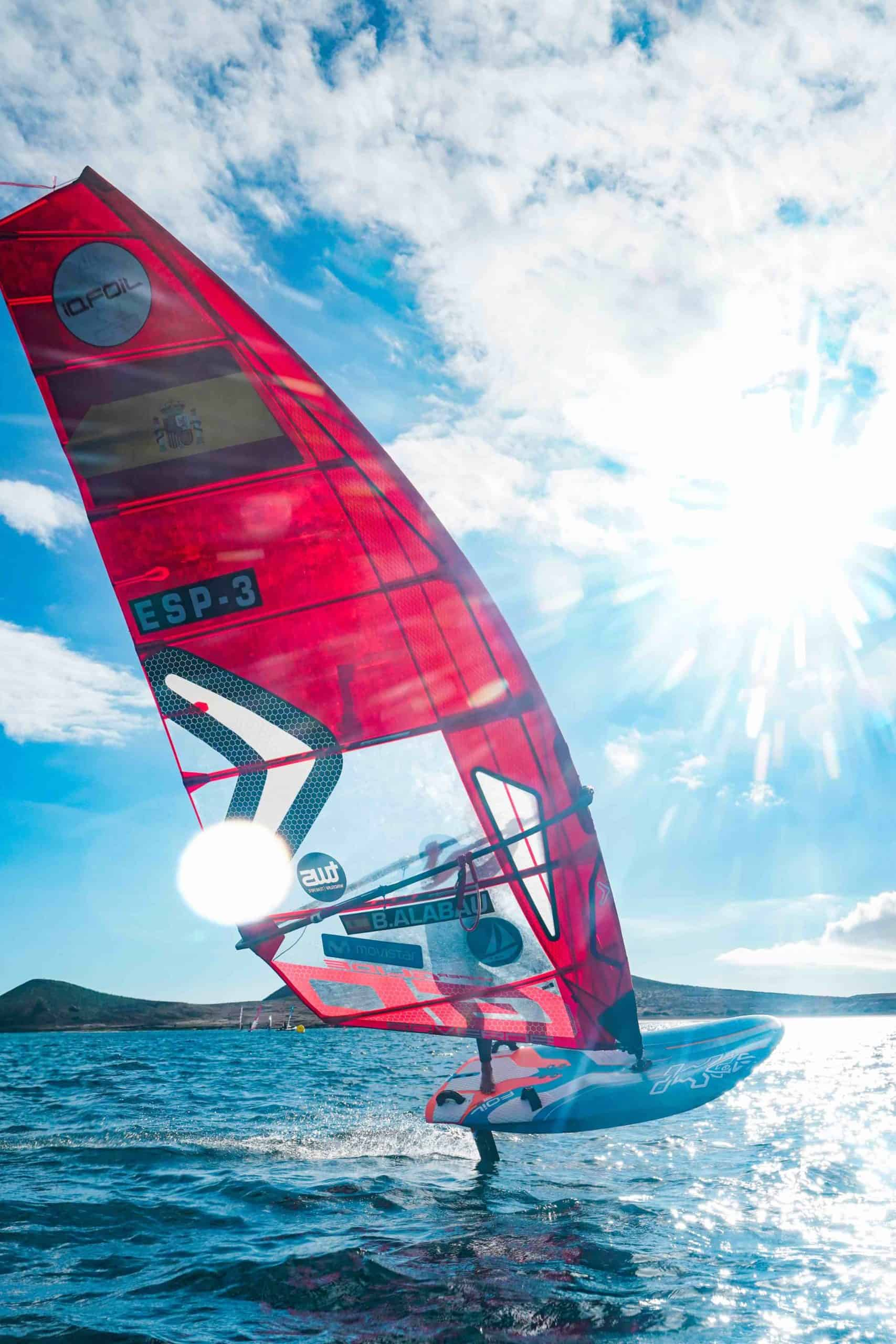 Blanca´s Slalom Foil Setup - 2 - Windsurf