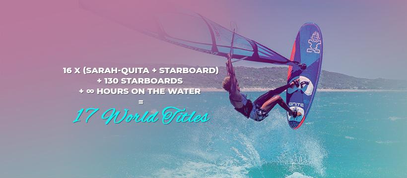 16 X Sarah-Quita + Starboard-2   Windsurf