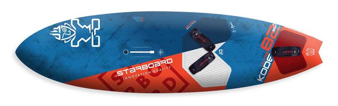 2022---Starboard-UltraKode-82-Thruster---Carbon-Reflex-Sandwich